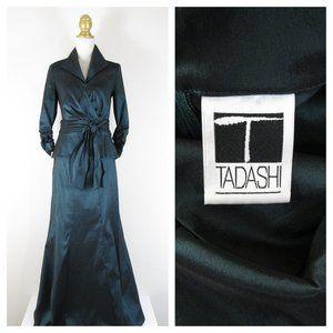 Tadashi Shoji Taffeta Mermaid Skirt Set Suit 8 10